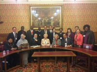 MPs on our death penalty study trip visit Baroness Stern at the House of Lords in May 2013