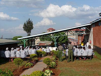 Langata women's prison in Kenya