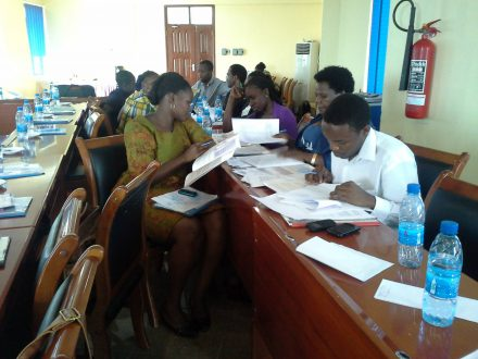 Participants at our roundtable on violence against children in Tanzania July 2013