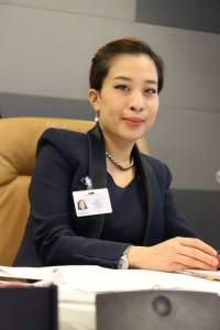 Princess Bajrakitiyabha Mahidol of Thailand at UN General Assembly event hosted by Thailand, PRI and TIJ, October 2013