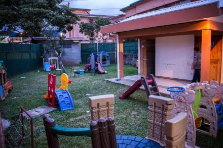 Casa Cuna Costa Rica outdoor playground