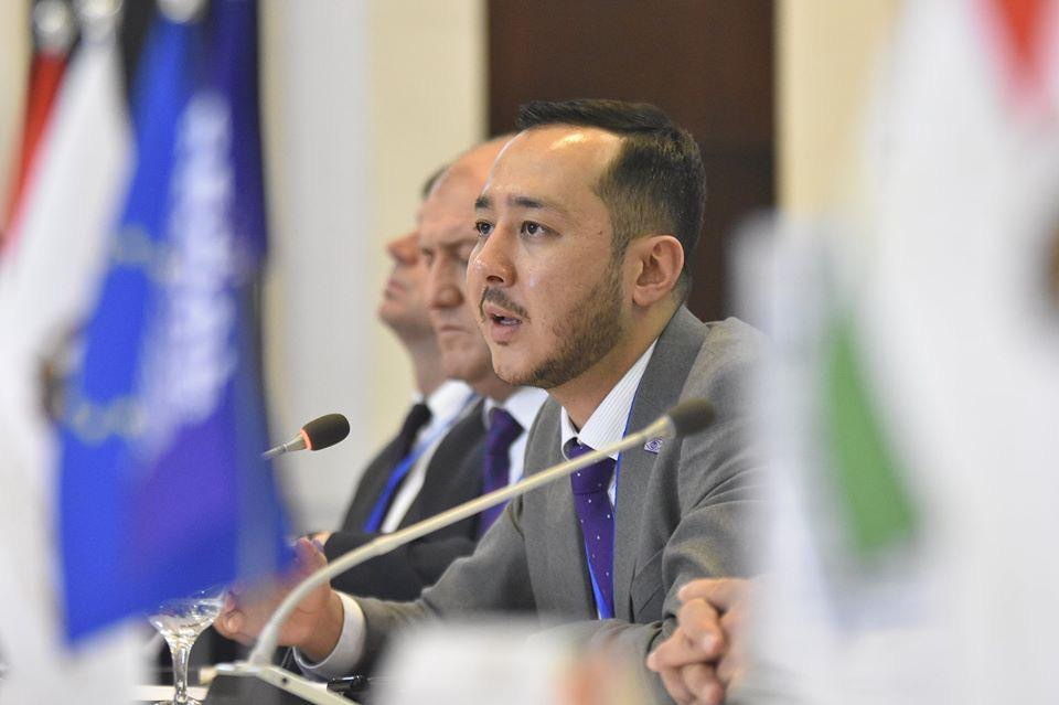 Penitentiary forum, Tajikistan (November 2019) –Azamat Shambilov
