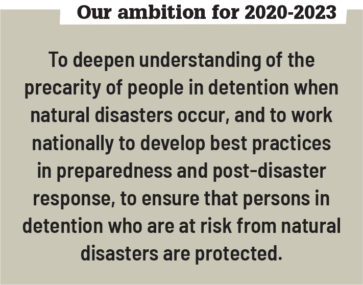 Weather Events 2020.The Issue Penal Reform International