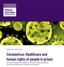 Briefing Coronavirus (16 March 2020)