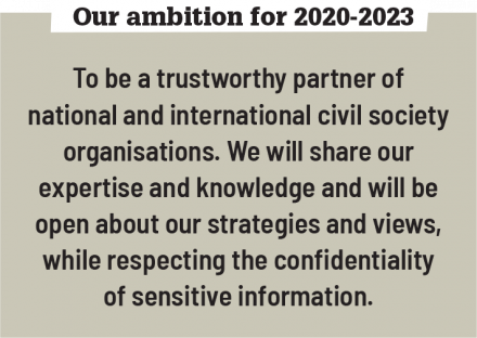 Ambition (civil society)