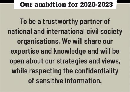 Ambition (civil society)