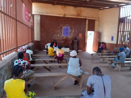 Training for female prison staff, Bangui, June 2020