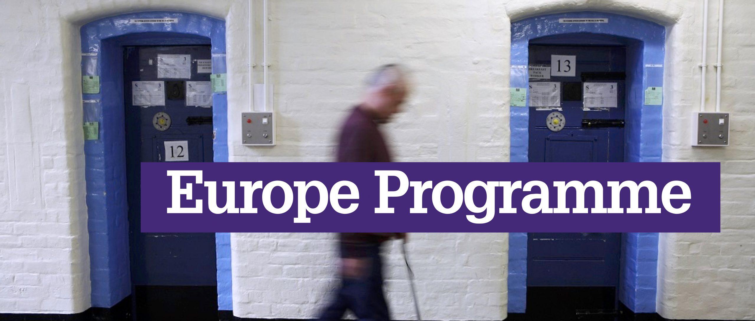 Europe Programme launch website